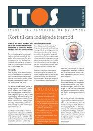 Bliv klogere med den anden ITOS-publikation fra maj 2013. - DI ITEK