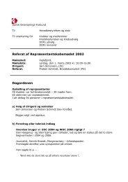 Referat 2003 - Dansk Orienterings-Forbund