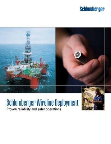 Schlumberger Wireline Deployment Brochure