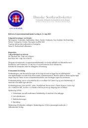 Referat fra Reprensentantskabs møde 11.maj 2013 - Forbundet Af ...