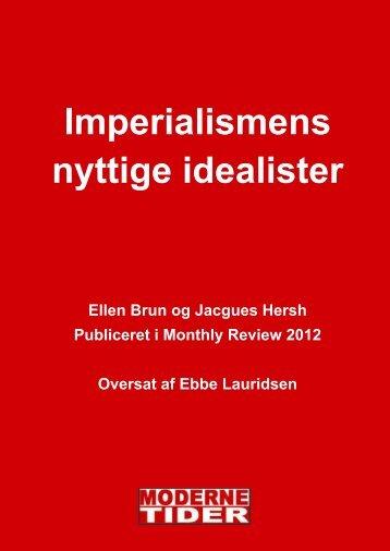 Imperialismens nyttige idealister - Modernetider.dk