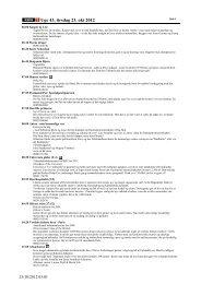 Uge 43, tirsdag 23. okt 2012 - Dr