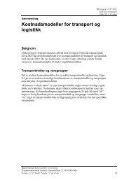 Sammendrag - Transportøkonomisk institutt
