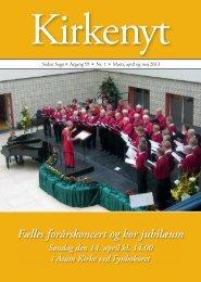 Kirkenyt 1 2013 - Seden Kirke