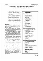 Afdækninger og inddækninger i husbygning. - HFB