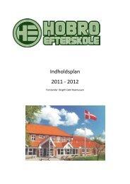 Indholdsplan 2011 - 2012 - Hobro Efterskole