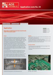 Application note No. 39 - AOS Technologies AG