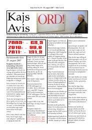 Nummer 34 - KAJ´s AVIS