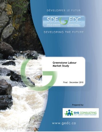 Greenstone Labour Market Study - Greenstone Economic ...