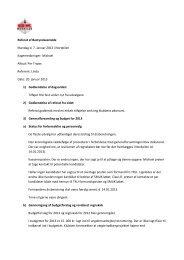 Referat af Bestyrelsesmøde Mandag d. 7. Januar 2013 i Nordpilen ...