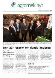 Der står respekt om dansk landbrug - Agromek