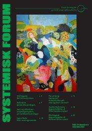 systemisk forum - STOK – Dansk forening for systemisk terapi og ...