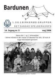 Maj 2006 - 1. Birkerød Gruppe