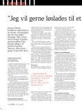 Løsladt til gaden Fanger mediterer sig til ro Kæmper for ... - Hus Forbi - Page 6