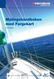 Malingshåndboken med Fargekart - Yachtpaint.com