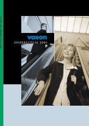 ÅRSBERÄTTELSE 2001 - Vacon