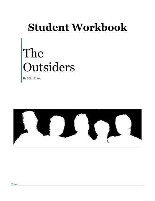 THE OUTSIDERS STUDENT Shs8thgrade Home