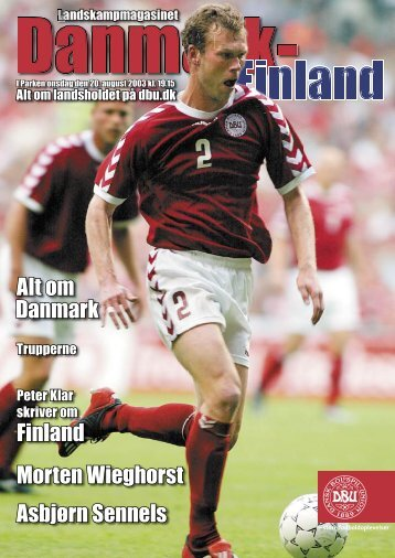 Danmark - Finland - DBU