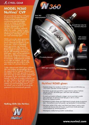 MODEL N360 NuVinci® CVP - Fallbrook Technologies Inc.