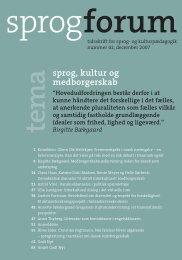 Sprogforum 41 - Aarhus Universitetsforlag