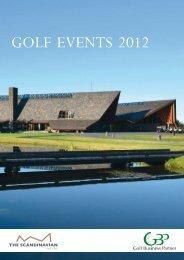 The Scandinavian Events 2012 - Golf Business Partner