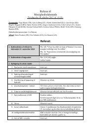 Referat den 30. oktober 2012
