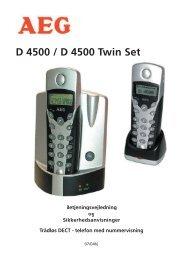 Telefonen tages i brug - JET GmbH