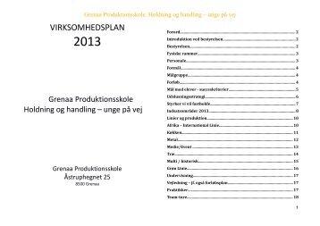 virksomhedsplan 2013