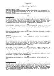VEDTÆGTER for Grundejerforeningen Gyvelkæden § 1 ...