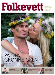Magasinet Folkevett nr. 3 - 2011 - GreeNudge