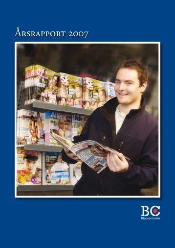 Årsrapport 2007 - Bladcentralen