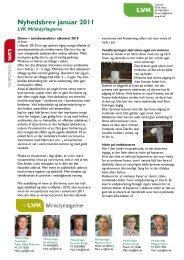 Klik her og læs hele nyhedsbrevet fra LVK Minkdyrlægerne