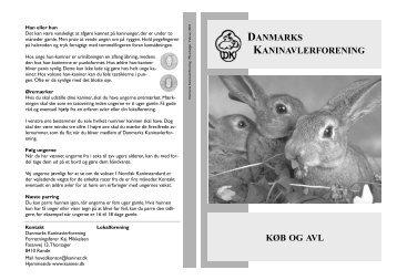 DANMARKS KANINAVLERFORENING KØB OG AVL