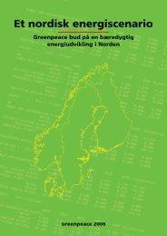 Det nordiske energiscenarie - Greenpeace