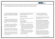 Betingelser for konti med check og hævekort over 18 år - Danske Bank