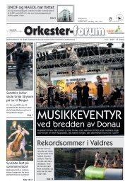 ORKESTER-forum no. 3/09 - Nasol