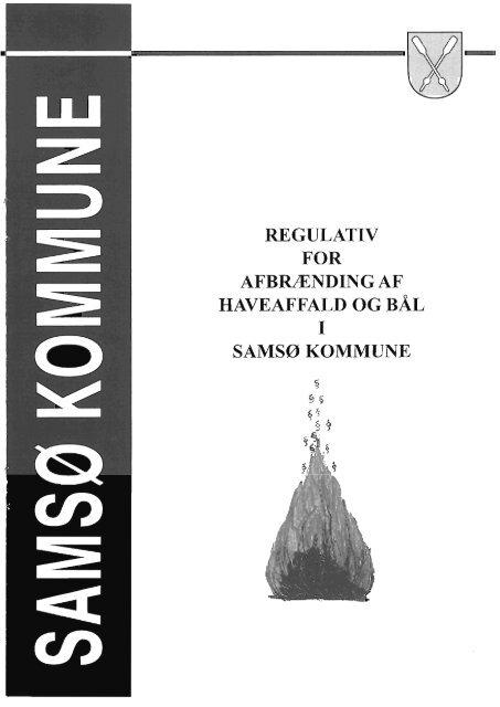 regulativ for afbrænding af haveaffald og bål samsø kommune