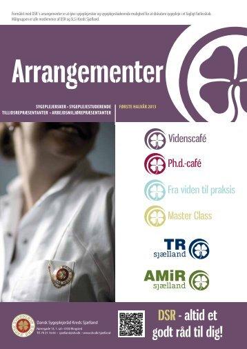 Faglige arrangementer første halvår 2013_Pjece.pdf - Dansk ...