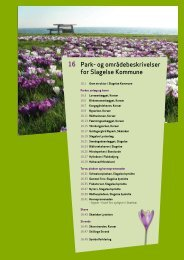 Park- og områdebeskrivelser for Slagelse Kommune 16