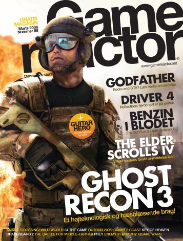 the elder scrolls iv godfather benzin iblodet - Gamereactor
