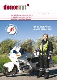 Donor Nyt - Nr. 82 - Bloddonorerne i Danmark