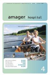 Har vi organiseret os på den mest optimale - Amager Hospital