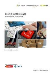Dansk e-handelsanalyse 2012 årsrapport - FDIH
