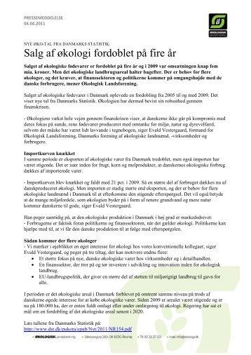 salg af økologi fordoblet på fire år.pdf - Økologisk Landsforening