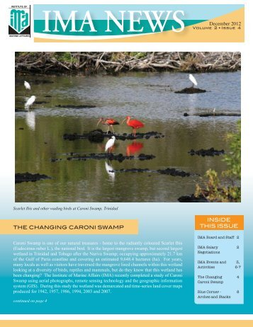 to View December 2012 Newsletter PDF - Institute of Marine Affairs