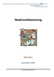 Medicinafstemning manual - Sikker Patient