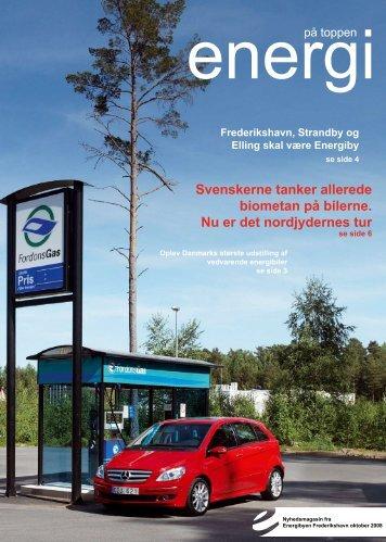 Svenskerne tanker allerede biometan på bilerne. Nu er ... - Energibyen