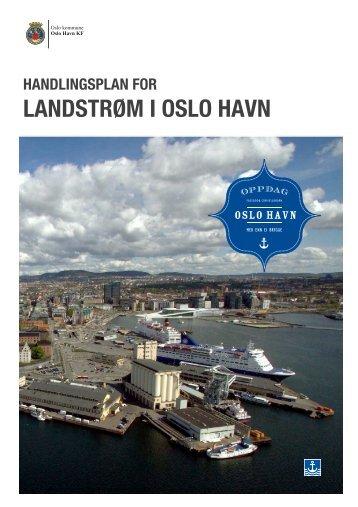 handlingsplan for landstrøm - Oslo Havn