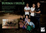 Burma i skole