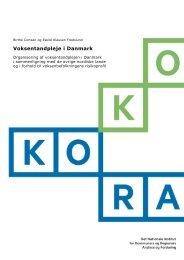 Voksentandpleje i Danmark - KORA